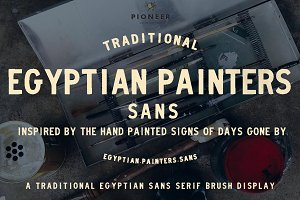 Egyptian Painters Sans