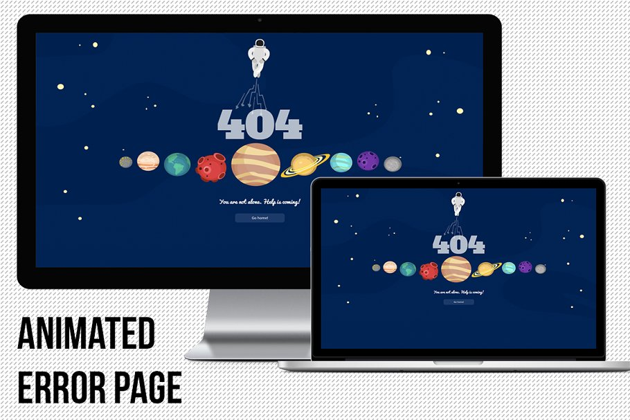 404 Animated Error Page
