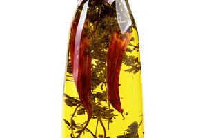 Olive Oil with Chili Pepper