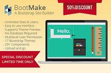 BootMake - A Bootstrap Site Builder