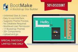BootMake - A Bootstrap Site Builder