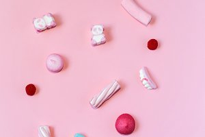 Sweets, colorful candies