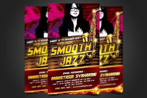 Smooth Jazz Flyer Template