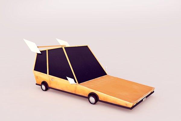 3D Vehicles: Anton Moek - Cartoon Car