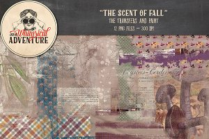 The Scent Of Fall Transfers + Paint