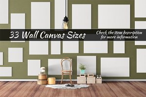 Canvas Mockups Vol 21