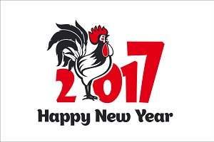 Rooster - symbol of 2017