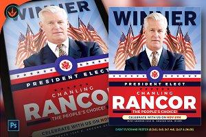 President Elect Political Flyer