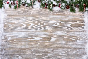 Rustic White Christmas