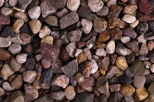 Rough colorful stones