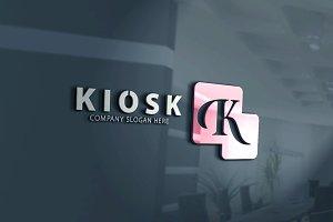 Kiosk - K Letter Logo