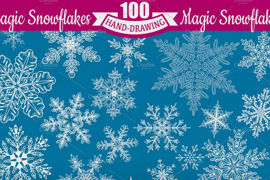 60 Off Set Of Xmas Lettering Pre Designed Photoshop Graphics Creative Market