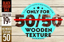 Wooden texture background big set.
