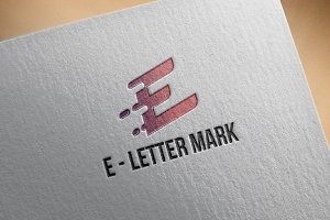 E - Letter Mark Business Strategy