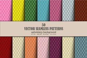Upholstery Seamless Pattern