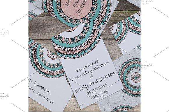 Wedding invitation template vol.1 - Invitations