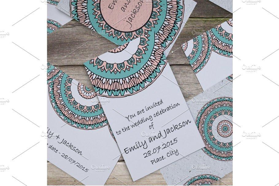 Wedding invitation template vol.1