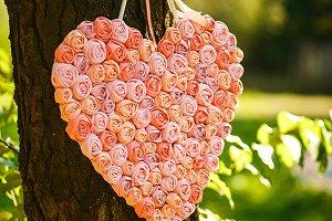 The decorative heart