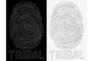Tribal finger print