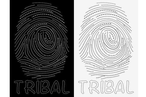 Tribal finger print