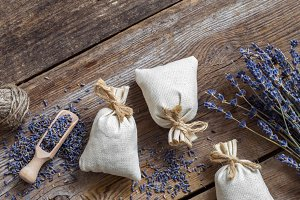 Lavender and sachets