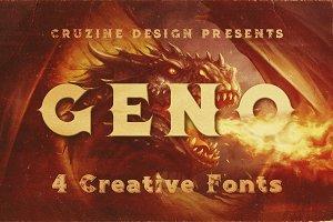 Geno Typeface