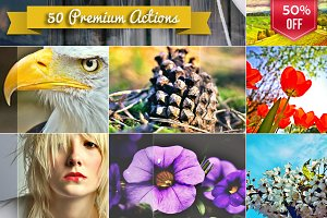 50 HDR Actions Bundle