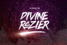 Divine Razier Font+Extra (50% OFF!)