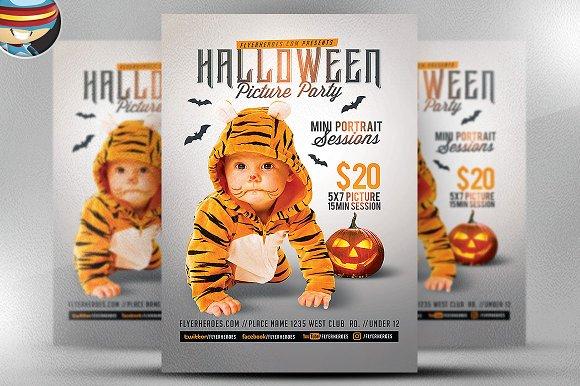 Kids Halloween Photo Op Flyer