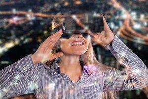 virtual reality 3D headset