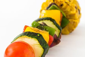 Vegetable skewer