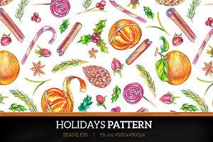 Winter Holidays pattern