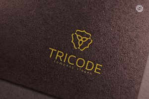 Tricode Logo Template