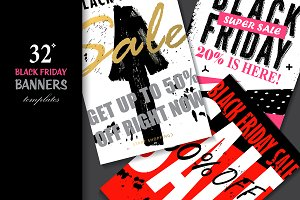Black Friday Banners Templates