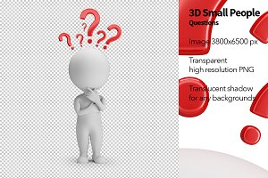 3D Small People - Questions