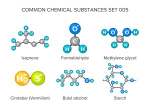 Common chemical substances