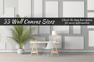 Canvas Mockups Vol 26