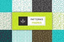 Frames and patterns for packaging