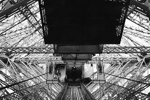 Eiffel Tower Interior Lift