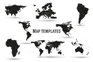 3 in 1 - Map templates