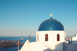 Church in Santorini.