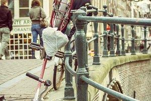 Vandalism in Amsterdam