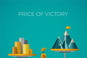 Price of victory concept
