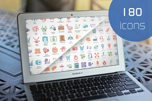 33% OFF SEO & Business Icons Bundle