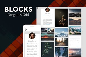 Blocks - Gorgeous Grid Tumblr Theme