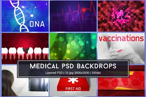Medical Health Care PSD Graphics