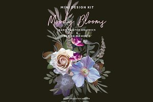 Design Kit - Moody Blooms