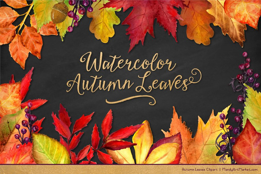 fall leaves clipart.html