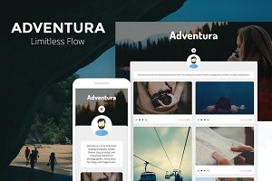 Adventura - Showcase Tumblr Theme