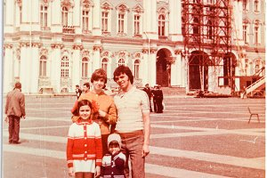 USSR, Leningrad  1978, Palace Square